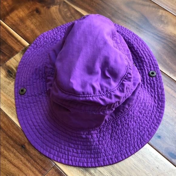 ecbe5c9e6ebe5d REI Accessories | Purple Hat With Adjustable Chin Strap And Brim ...